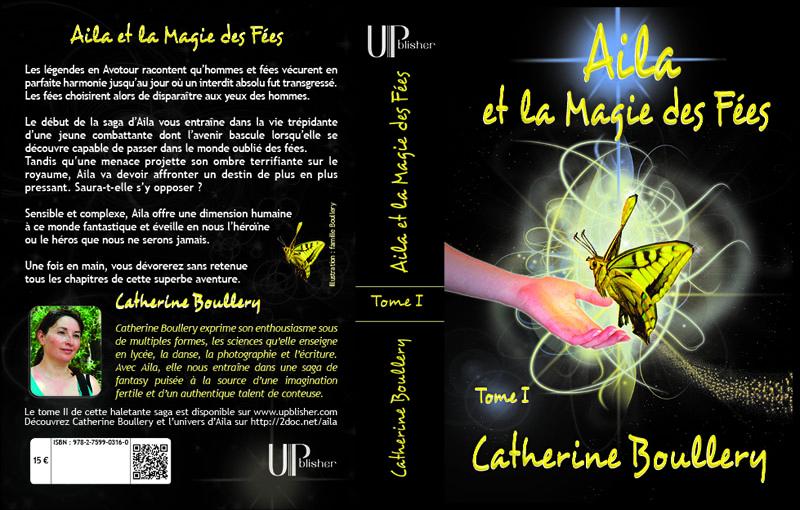 Couverture de fantasy Aila et la Magie des Fées