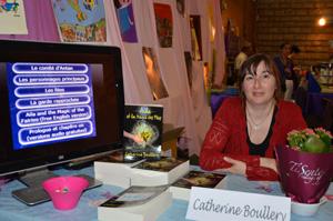 Catherine Boullery au Salon du livre de Sartrouville 2012
