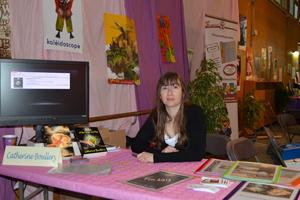 Catherine Boullery au Salon du livre de Sartrouville 2013