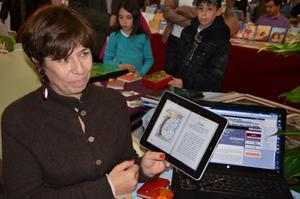 Démonstration de lecture sur tablette
