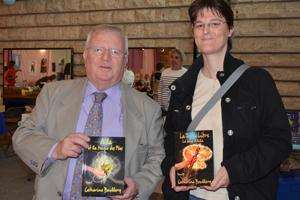 Visite de Monsieur Jacques Myard, député, au Salon du livre de Sartrouville 2013